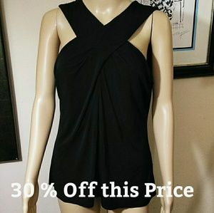 Michael Kors Black crossover Tunic
